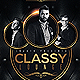 Classy Lounge Party Flyer - GraphicRiver Item for Sale