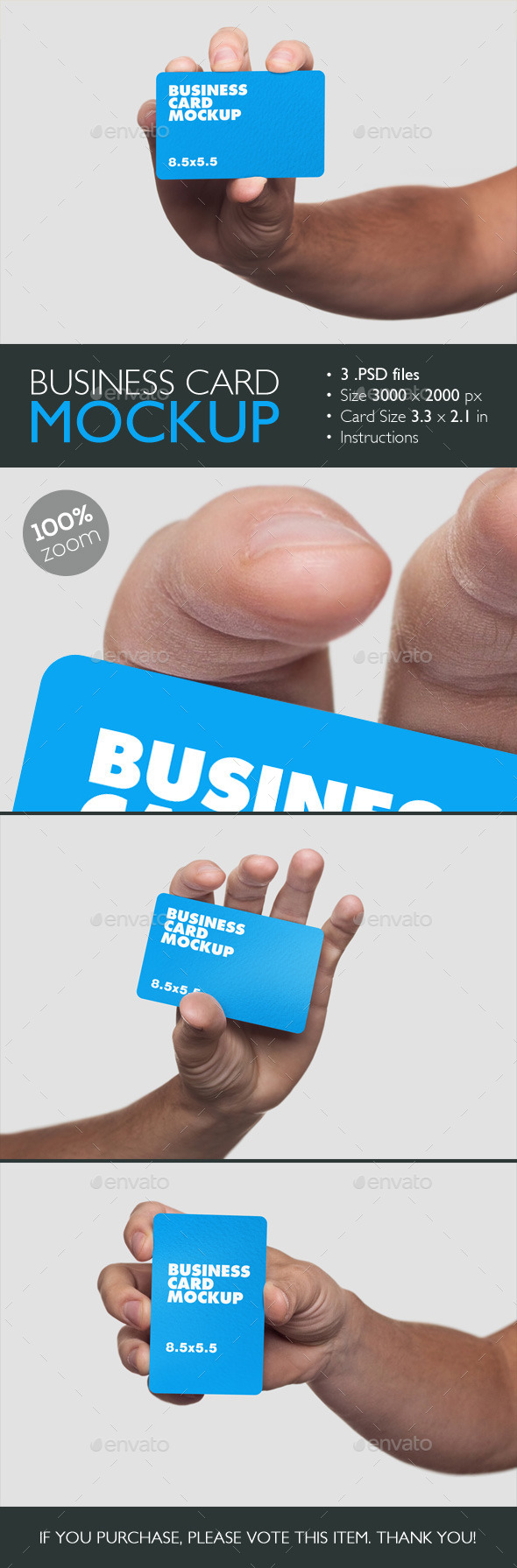 GraphicRiver Business Card Mockup 10342091