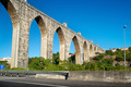 historic aqueduct in the city of Lisbon built in 18th century, P - PhotoDune Item for Sale