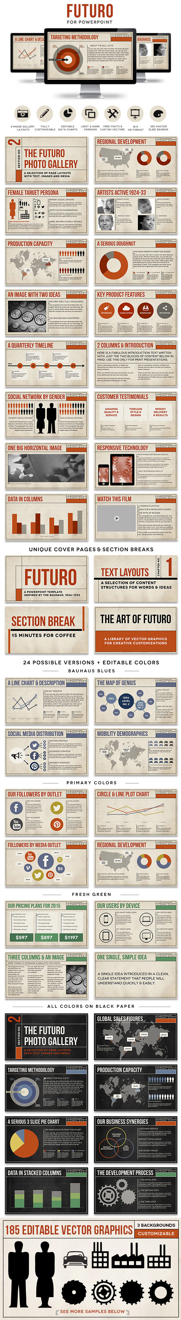 GraphicRiver Futuro Powerpoint Presentation Template 10343691