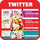 Multipurpose Twitter Header Cover - GraphicRiver Item for Sale