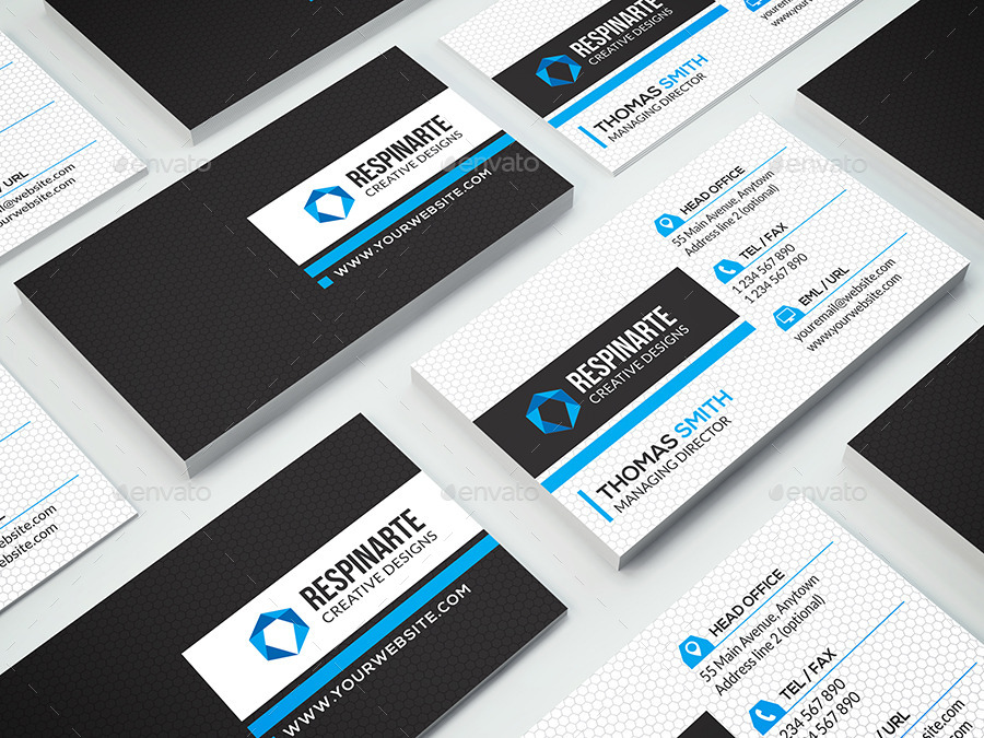 Corporate Business Card - RA83 - 6