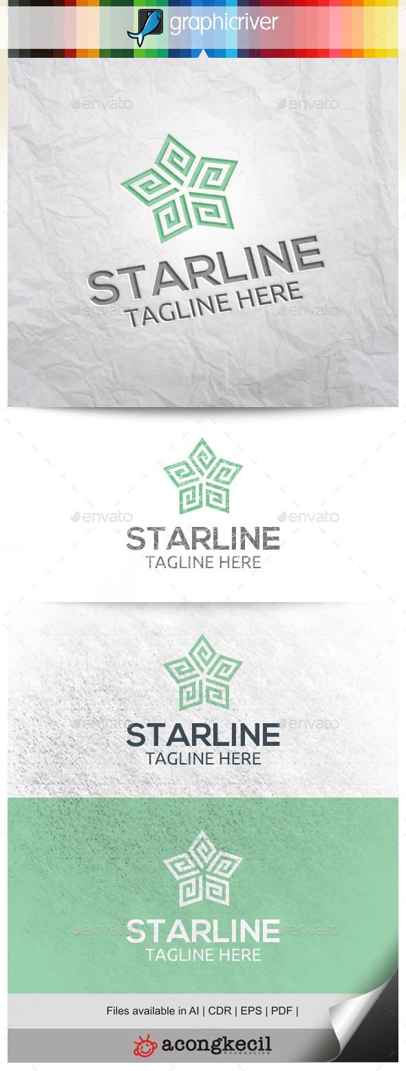 GraphicRiver Line Star V.2 10344634