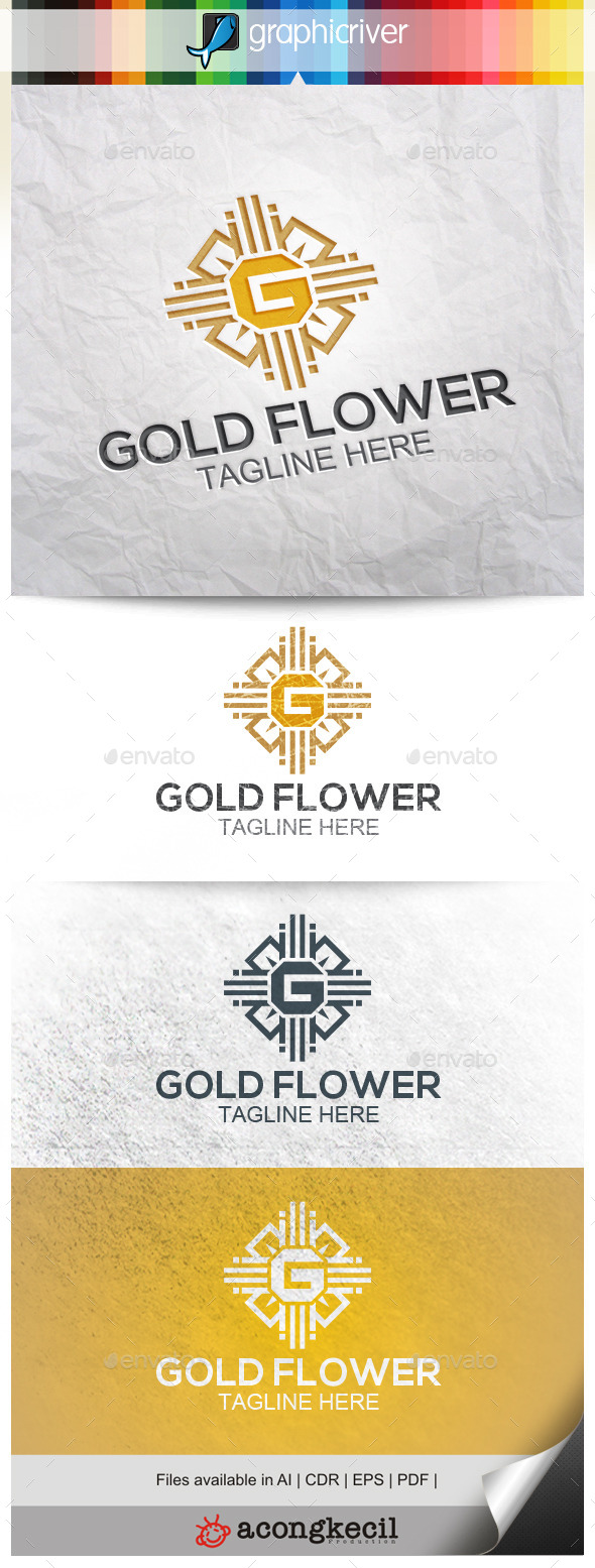 GraphicRiver Gold Flower V.2 10344833