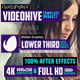 Glitch Lower Thirds Set - VideoHive Item for Sale