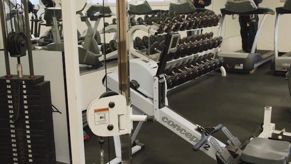 Inside A Gym Facility 2 Of 4