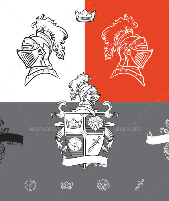 GraphicRiver Medieval Ornaments 10279053