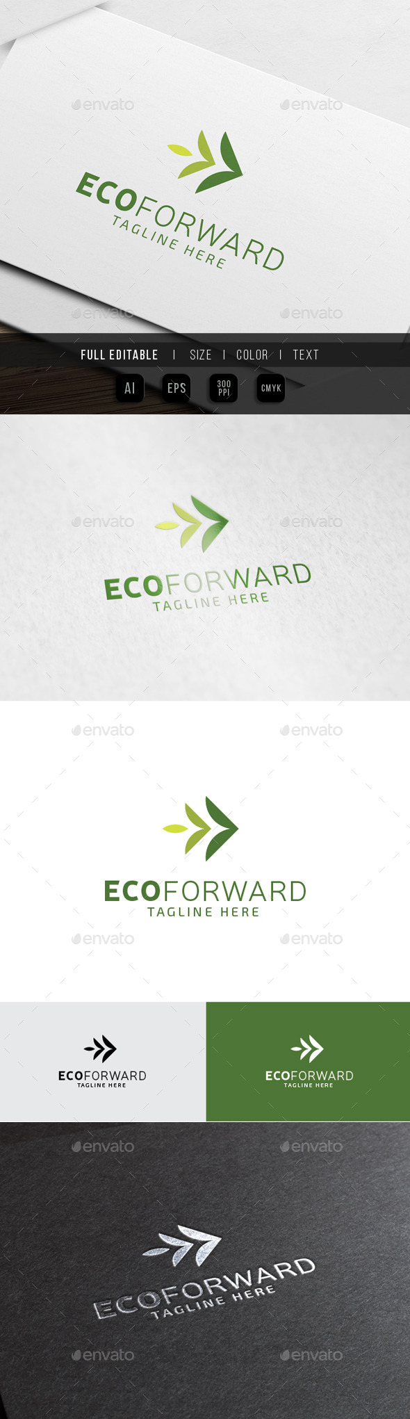 GraphicRiver Eco Green Forward Marketing 10345631