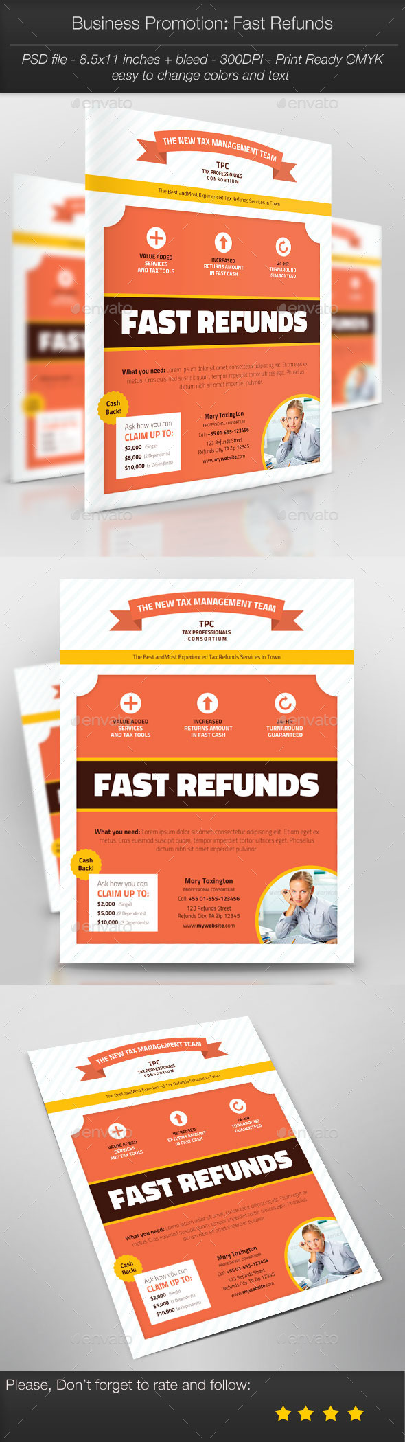 GraphicRiver Business Promotion Fast Refunds 10345640