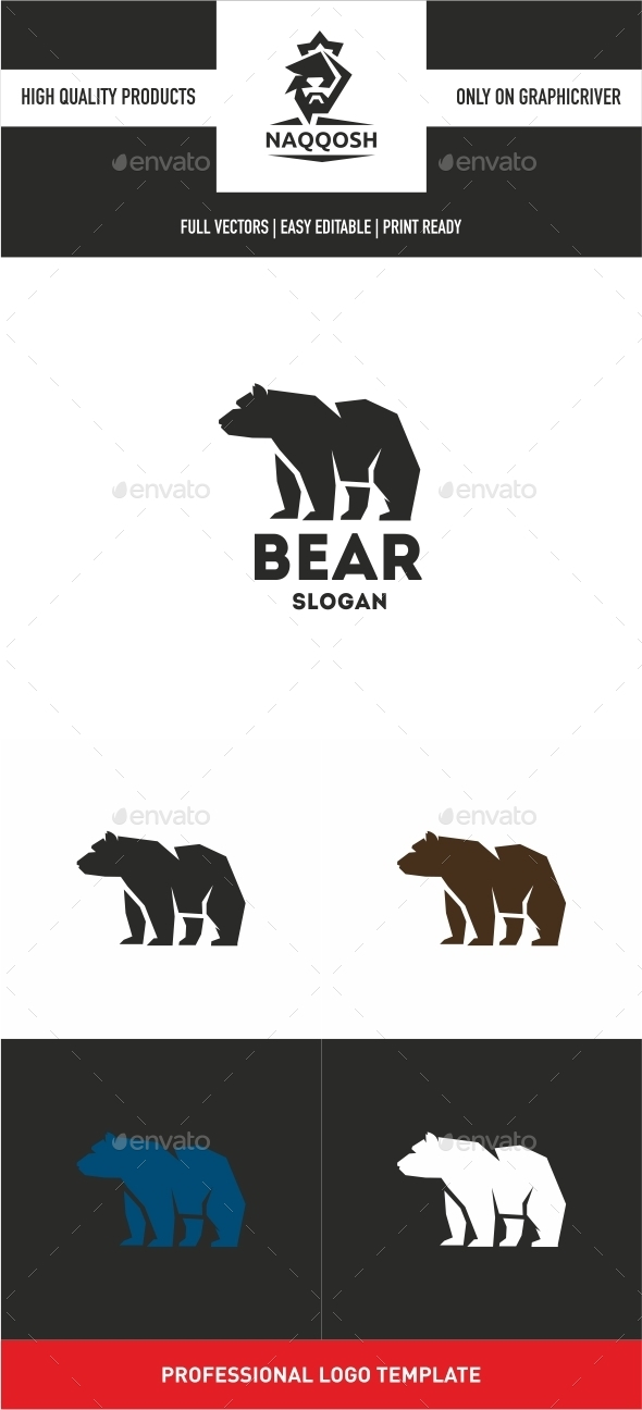 GraphicRiver Bear Logo 10345963