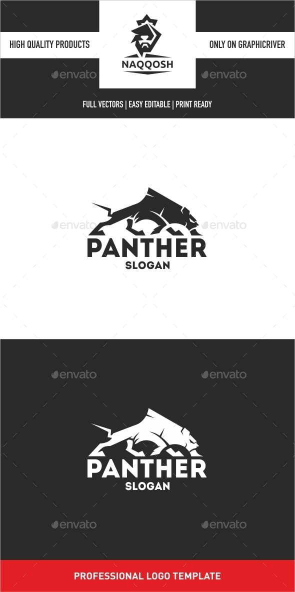 GraphicRiver Panther Logo 10345997