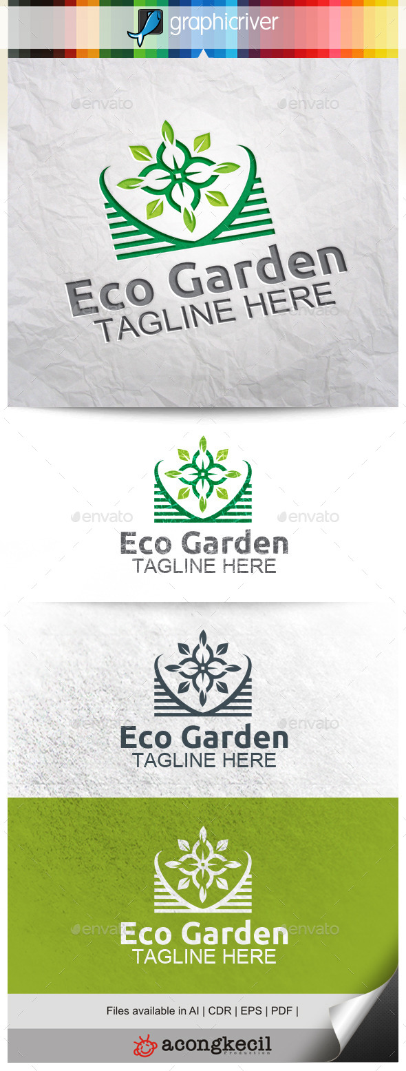 GraphicRiver Eco Garden V.4 10346128