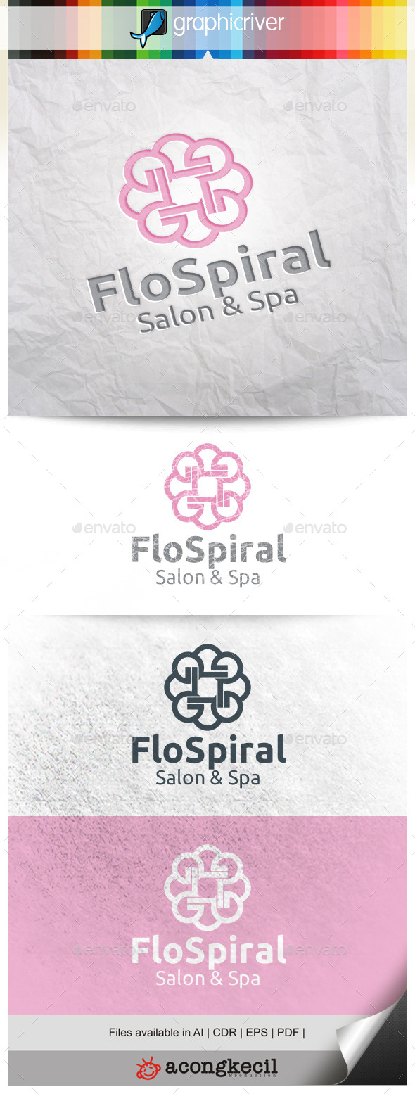 GraphicRiver Flower Spiral 10346841