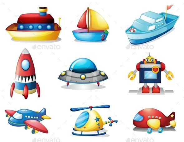 GraphicRiver Toys 10347573