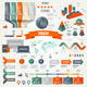 Infographics Set with Options. Business Icons