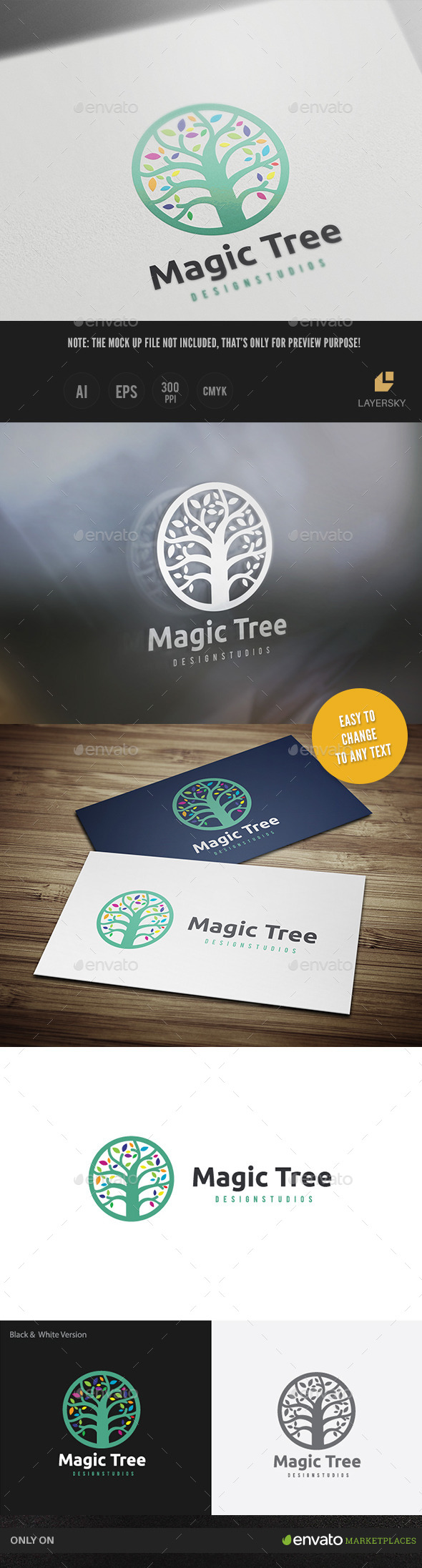 GraphicRiver Magic Tree 10348656