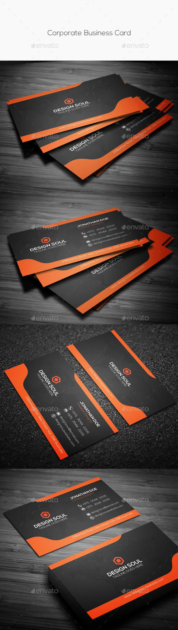 GraphicRiver Corporate Business Card 10349712
