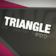 Triangle Intro - VideoHive Item for Sale