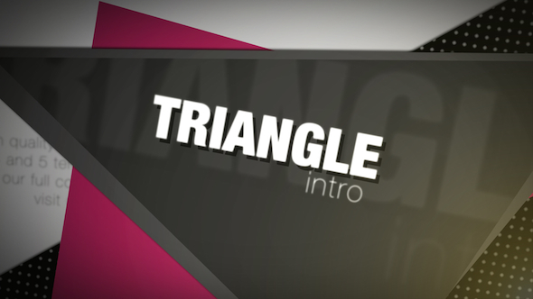 Download Triangle Intro nulled download