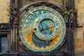 Prague Astronomical Clock Orloj in the Old Town Square - PhotoDune Item for Sale