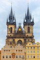 Church of Our Lady before Tyn in Prague, Czech Republic - PhotoDune Item for Sale