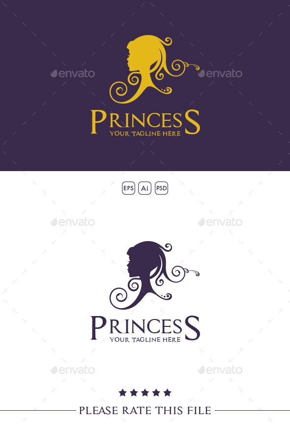 GraphicRiver Princess Logo 10350722