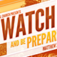Keep Watch And Be Prepared - GraphicRiver Item for Sale