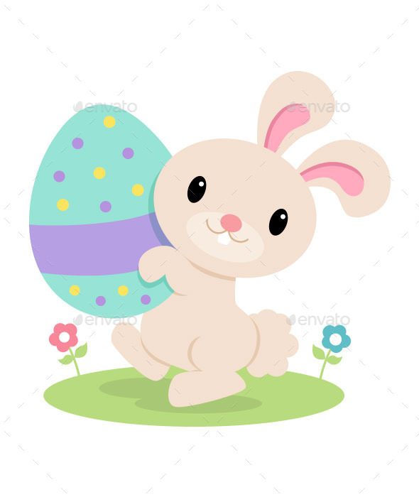 GraphicRiver Easter Bunny 10350895