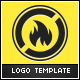 Oil Flame Logo Template - GraphicRiver Item for Sale