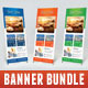 3 in 1 Sailing Yacht Banner Bundle 02 - GraphicRiver Item for Sale