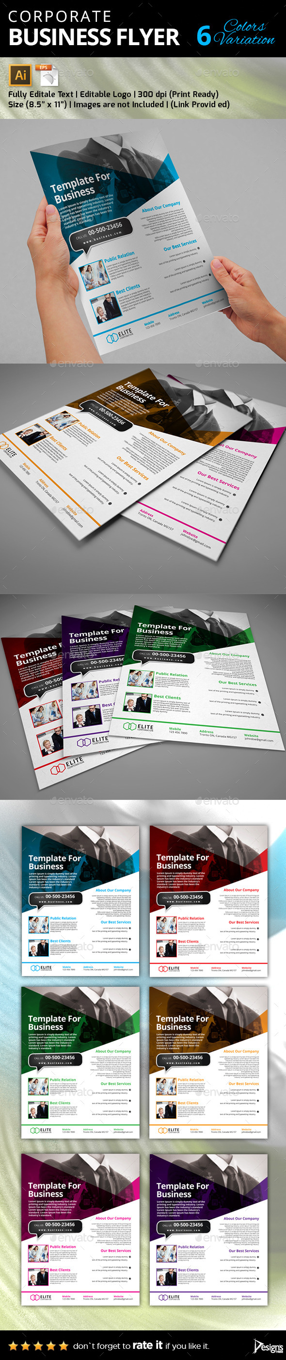 GraphicRiver Flyer Multipurpose Business Flyer 27 10350984