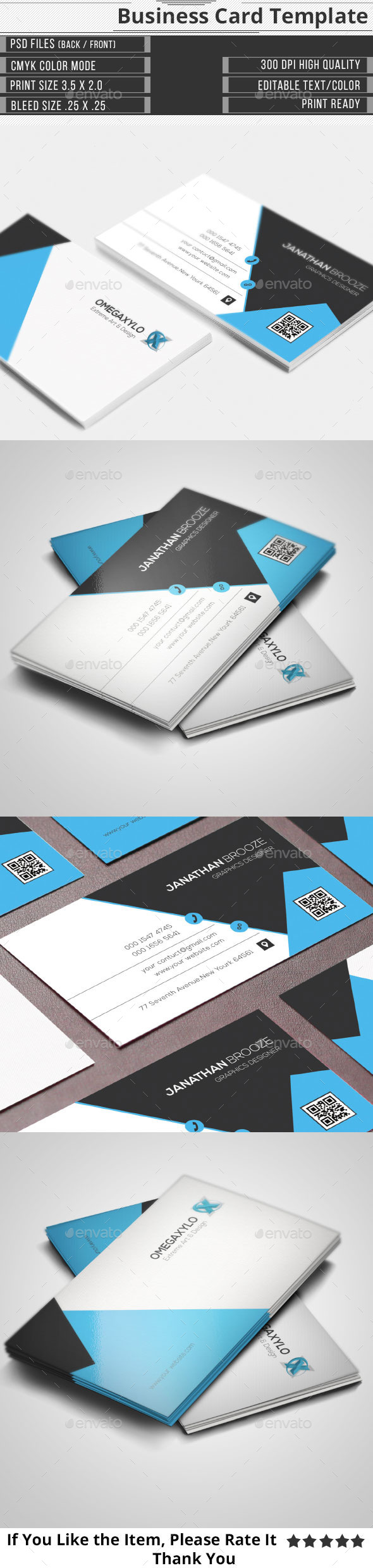 GraphicRiver Elegant Corporate Business Card 10351361