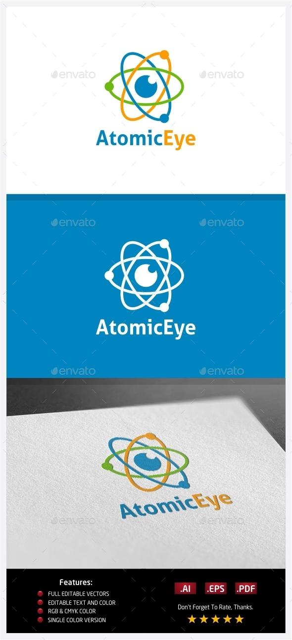 GraphicRiver Atomic Eye Logo 10351491