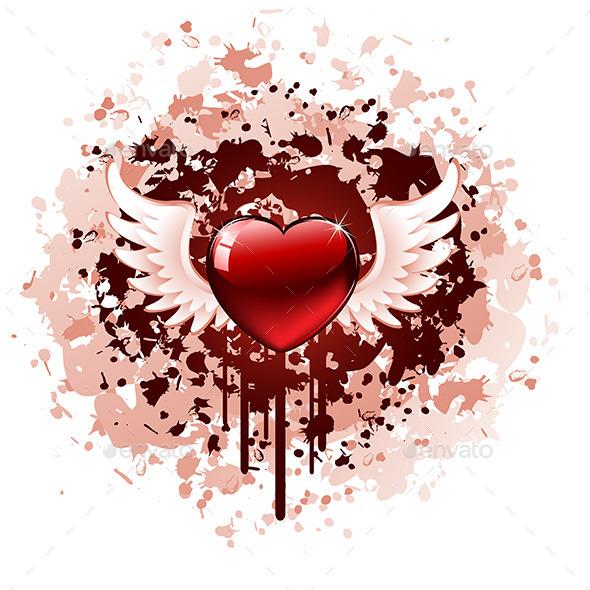 GraphicRiver Valentines Day Grunge 10351500