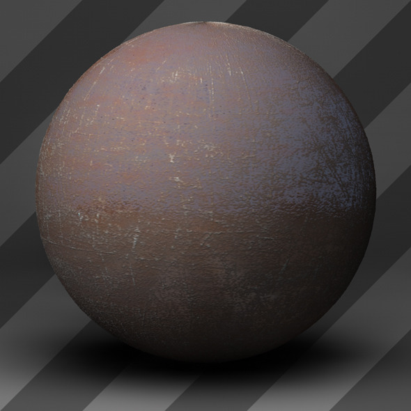 Rusty Metal Shader_006 - 3DOcean Item for Sale