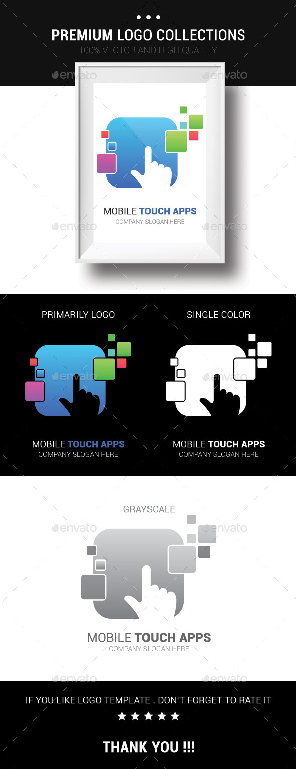 GraphicRiver Mobile Touch Apps 10351763