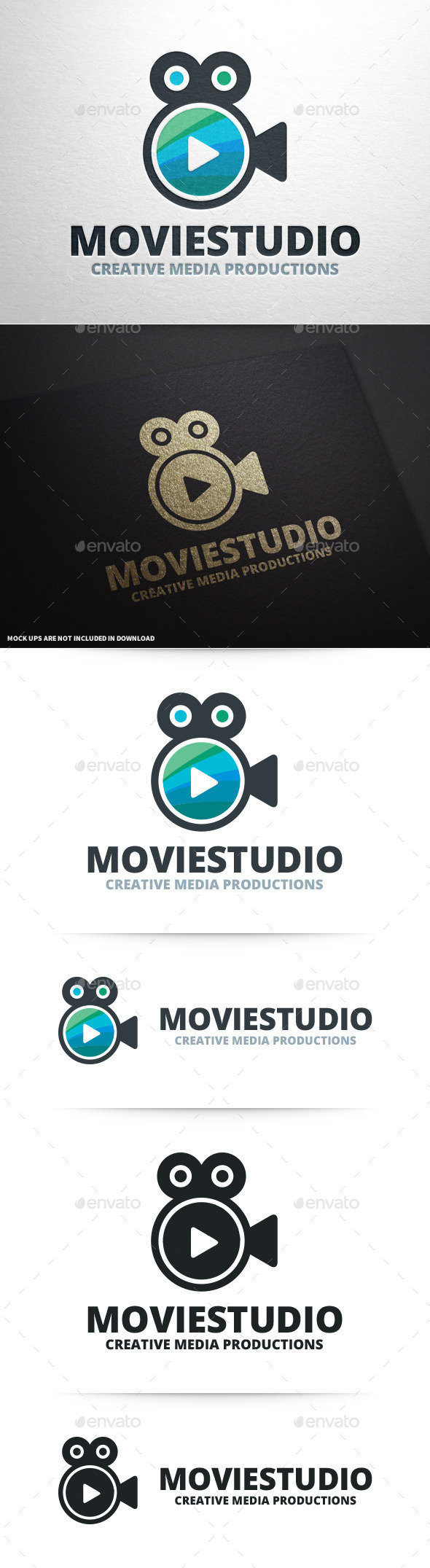 Movie Studio Logo Template