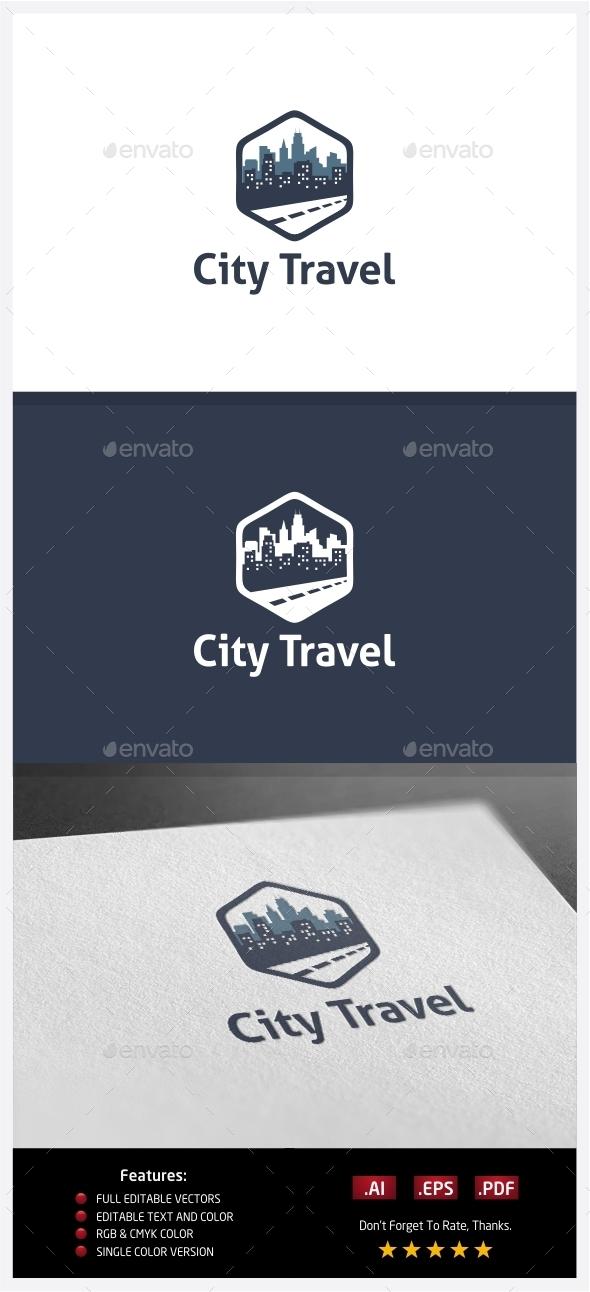 GraphicRiver City Travel Logo 10351829