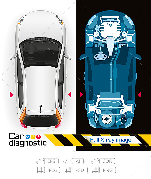 GraphicRiver Car Diagnostic Full X-ray 10351858