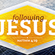Following Jesus - GraphicRiver Item for Sale