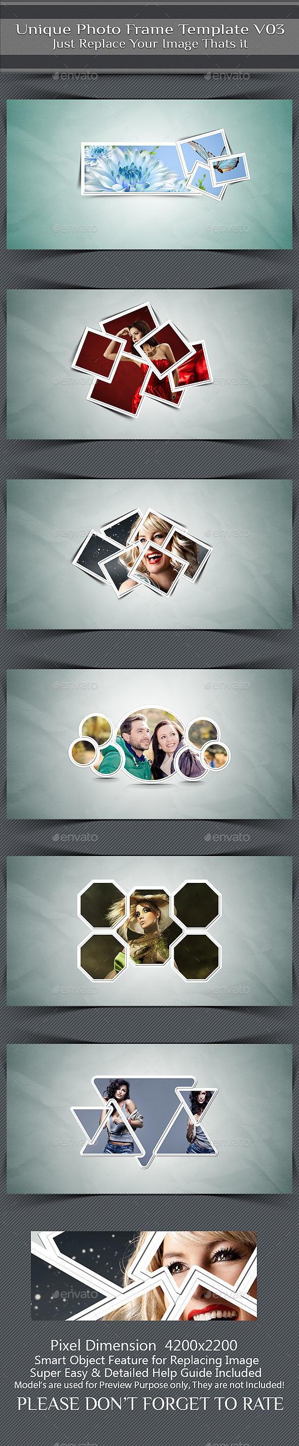 Unique Photo Frame Template V03