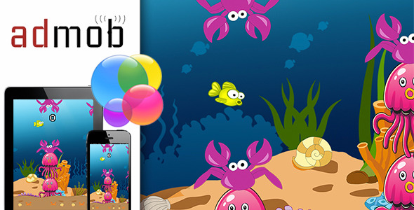 CodeCanyon Flappy Fish with Admob and Gamecenter 10351968