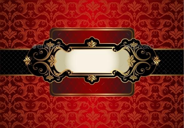 GraphicRiver Vintage Gold Frame 10352460
