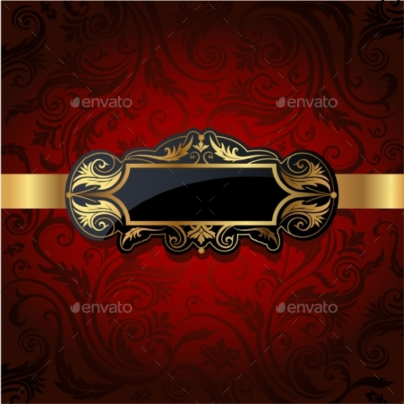 GraphicRiver Vintage Gold Frame 10352487