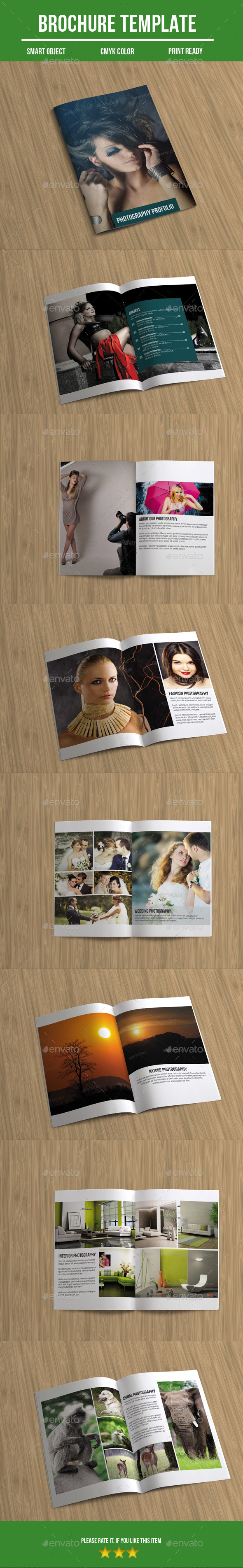 GraphicRiver Photography Brochure 10352562