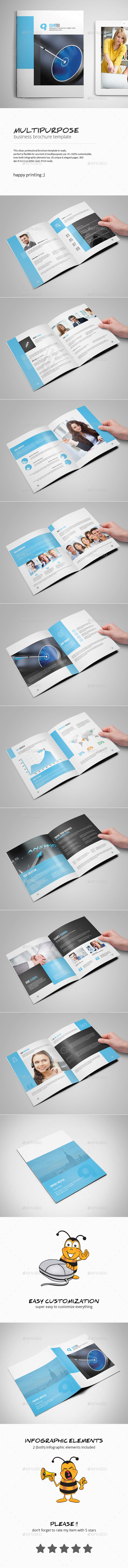 GraphicRiver Multipurpose Business Brochure Template 10352691