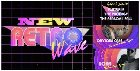 VideoHive 80s Retro Wave 10352741