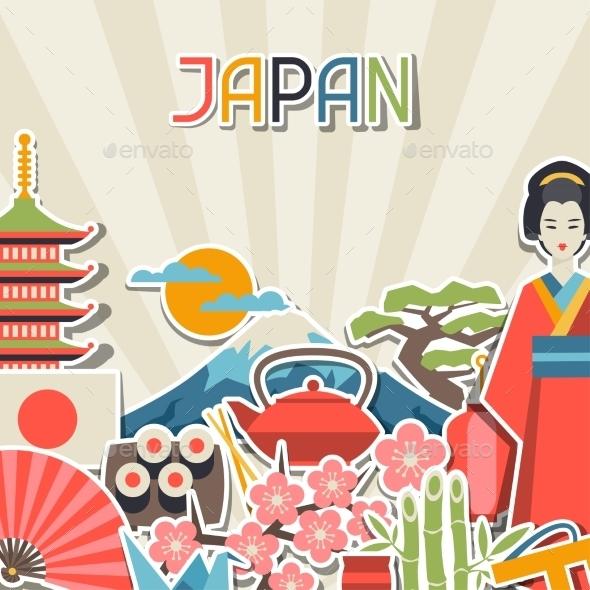 GraphicRiver Japan Background Design 10352765