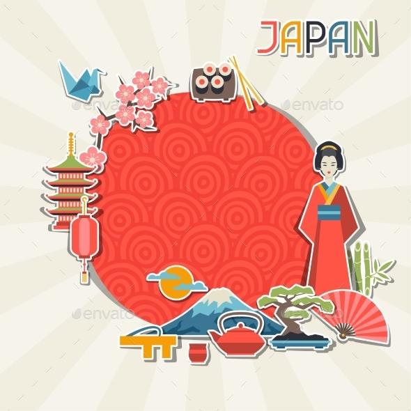 GraphicRiver Japan Background Design 10352770