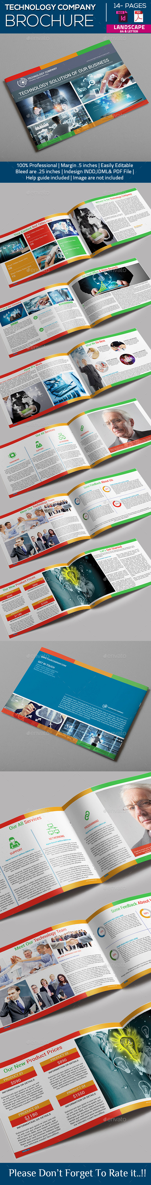 GraphicRiver Technology Company Brochure 10318806